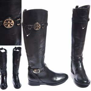 NWOB Tory Burch Calista 30MM Boots with flaws 5M